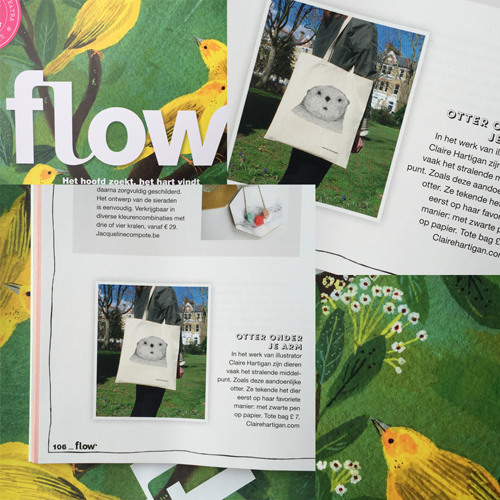 Flow Mag Tote Bag Claire Hartigan